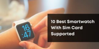 10 Best Smartwatch With Sim Card Supported